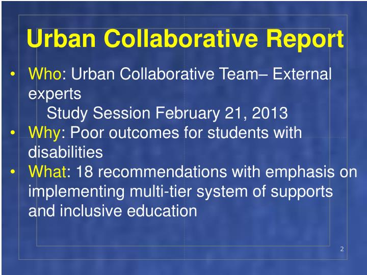 Urban Collaborative