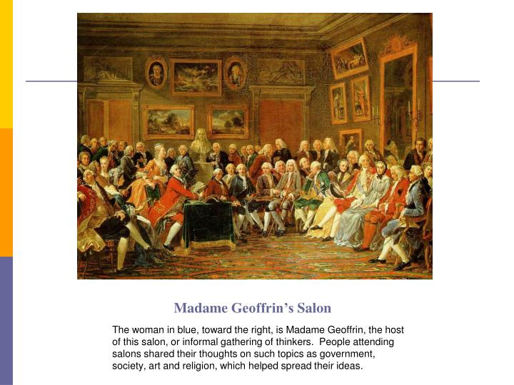 Madame geoffrin s salon