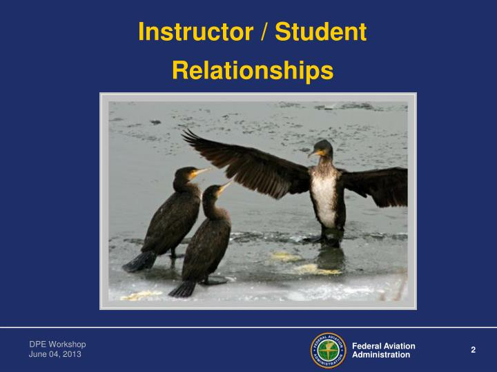 Instructor / Student