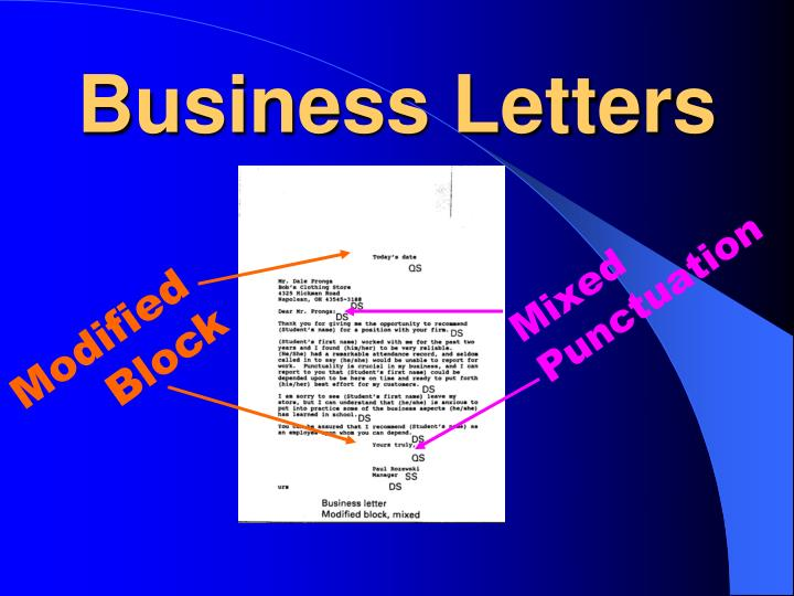 PPT Business Letters PowerPoint Presentation ID 2578835