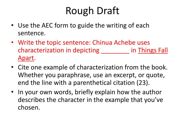 Ppt Aec Paragraph Writing Powerpoint Presentation Id2578936