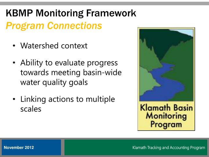 KBMP Monitoring Framework