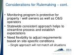 considerations for rulemaking cont1
