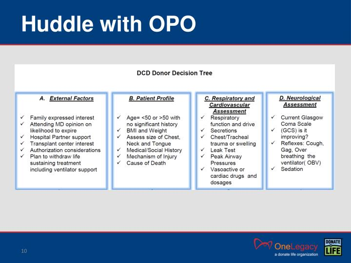 Huddle with OPO