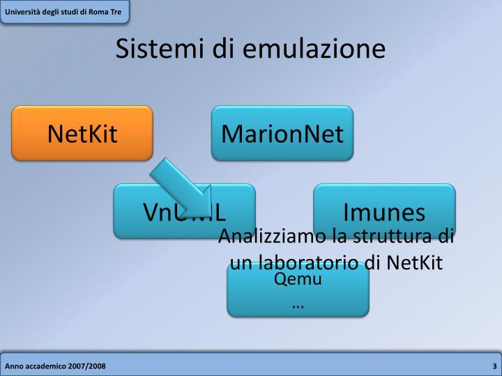 Sistemi di emulazione