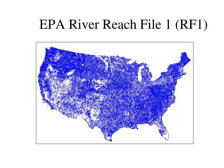 EPA River Reach File 1 (RF1)