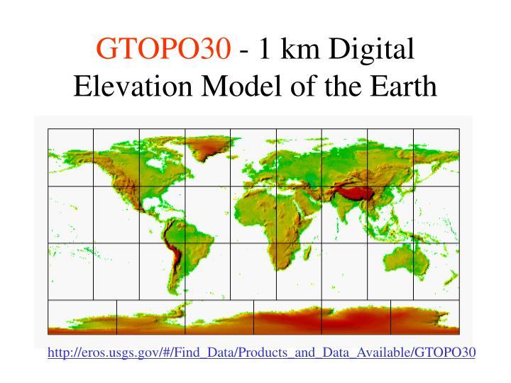 GTOPO30