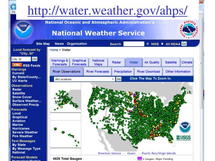http://water.weather.gov/ahps