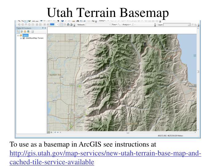 Utah Terrain