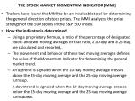 the stock market momentum indicator mmi