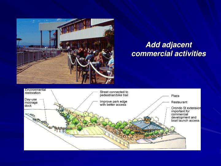Add adjacent commercial activities
