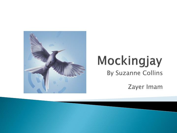 mockingjay by suzanne collins a sad In mockingjay, the final chapter of suzanne collins first made her mark in children's literature with the new york times bestselling underland chronicles series.