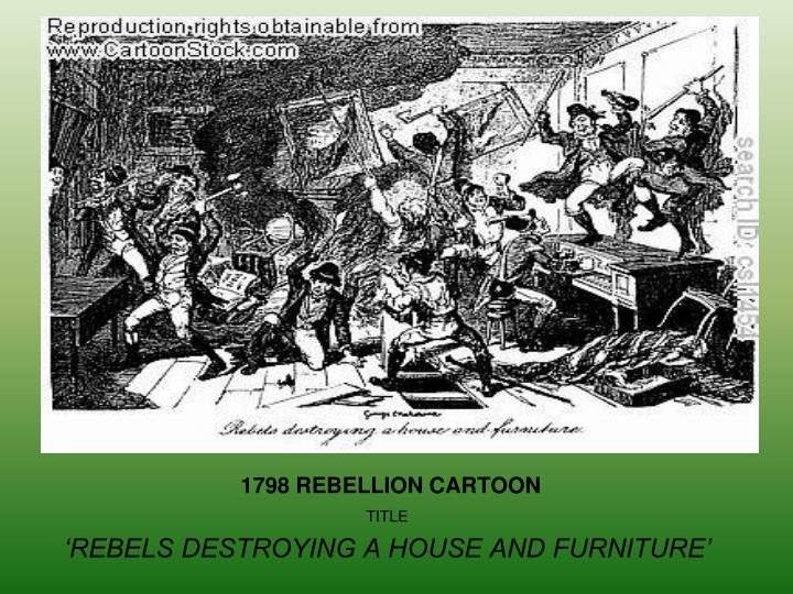 1798 REBELLION CARTOON