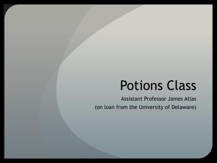 potions class n.