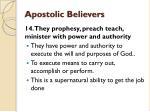 apostolic believers19