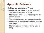 apostolic believers22