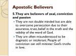 apostolic believers8