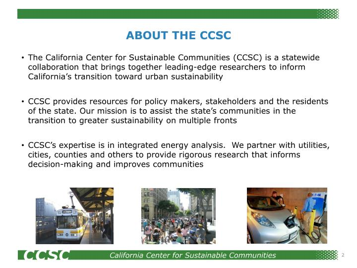 ABOUT THE CCSC