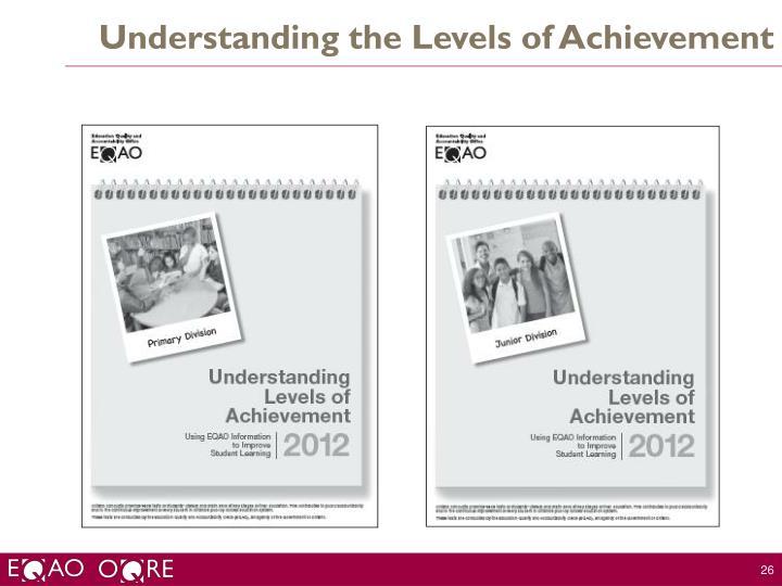 Understanding the Levels of Achievement