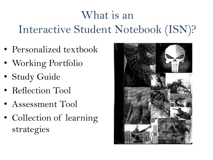 What is an interactive student notebook isn