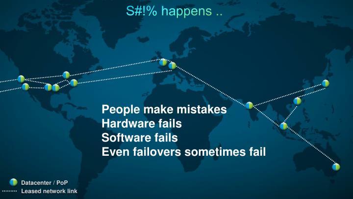 S#!% happens ..