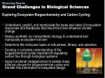 grand challenges in biological sciences3