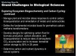 grand challenges in biological sciences4