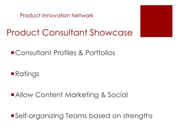 Product Innovation Network
