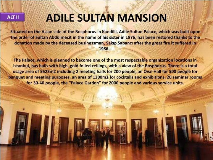 ADILE SULTAN MANSION