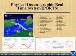 physical oceanographic real time system ports