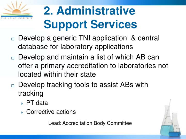 2. Administrative Support Services