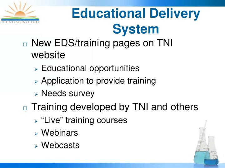 Educational Delivery System