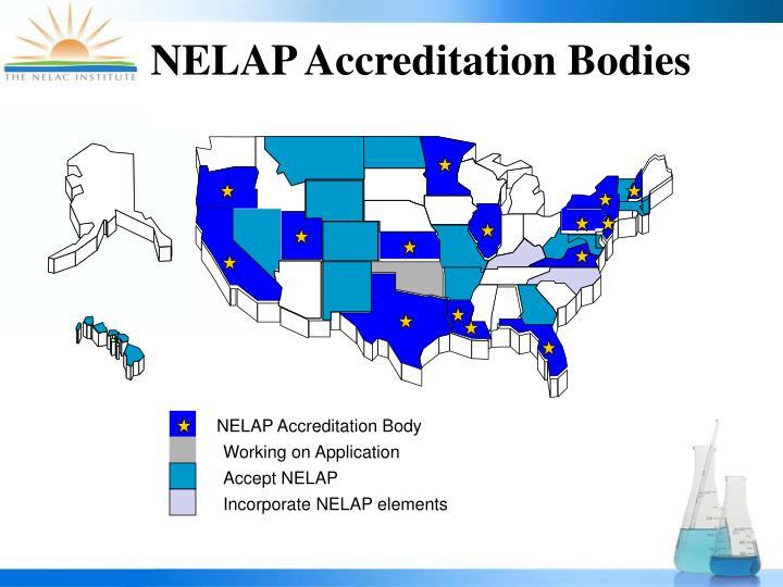 NELAP Accreditation Bodies