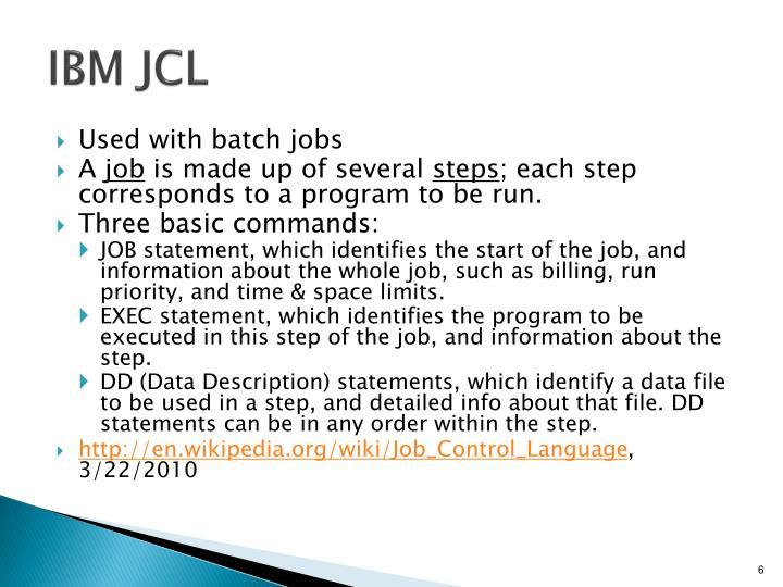 IBM JCL