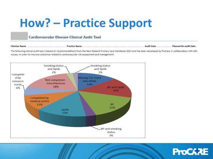How? – Practice Support