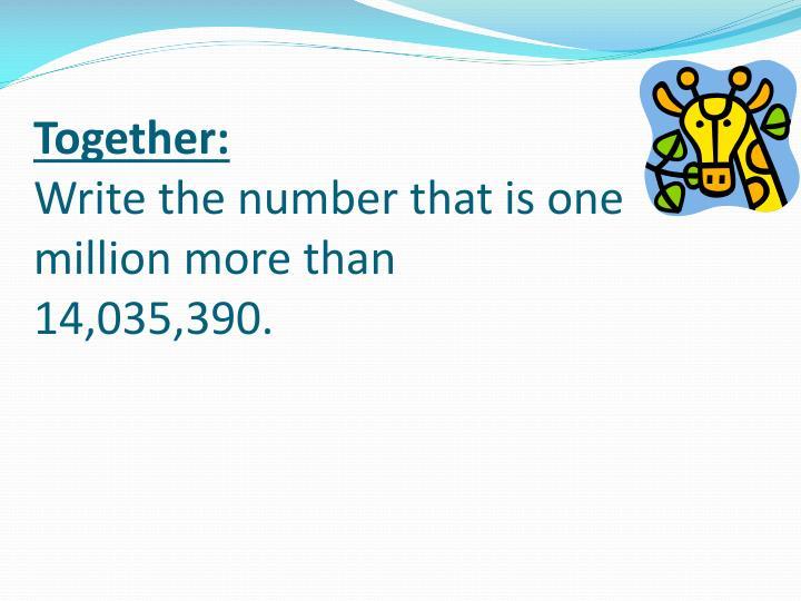 Together: