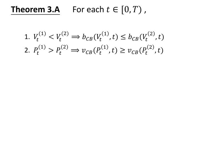Theorem 3.A