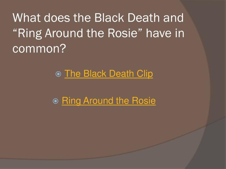ring around the rosies essay A children's song, ring around the rosie, is traceable back to at least 1790 in the united states and 1796 in germany it was widely held that it - 1418926.