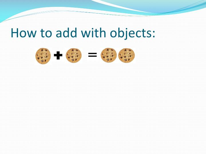 How to add with objects