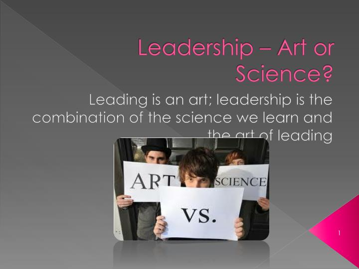 leadership is an art and an individual Leadership is the art of getting others to do something you want done because they want to do it who comes to mind when you think of great leaders what qualities make these individuals stand apart from the others the following is a list of common qualities inherent in all great leaders.