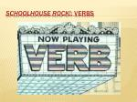 schoolhouse rock verbs