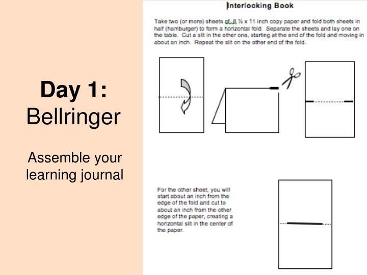 Day 1 bellringer