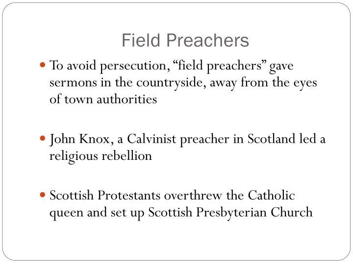 Field Preachers