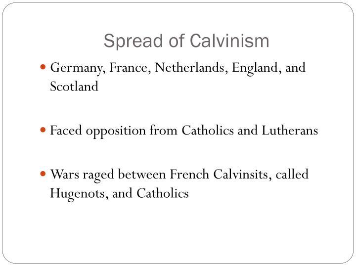 Spread of Calvinism