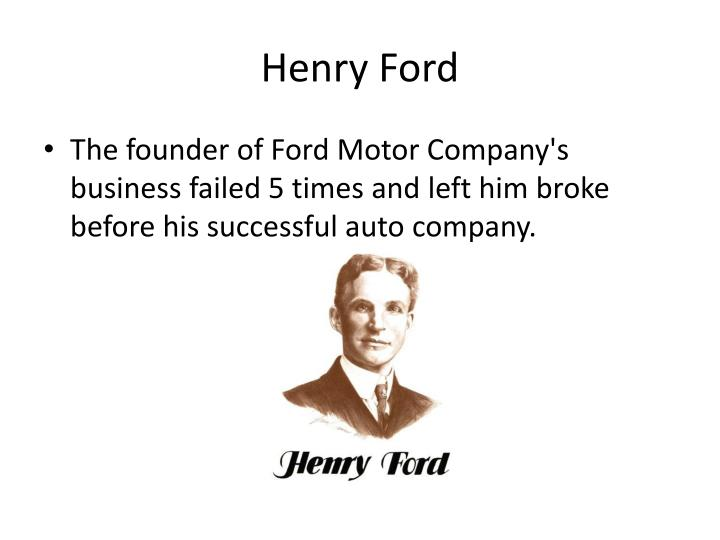 a biography of henry ford the founder of the ford motor co