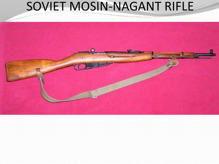 SOVIET MOSIN-NAGANT RIFLE