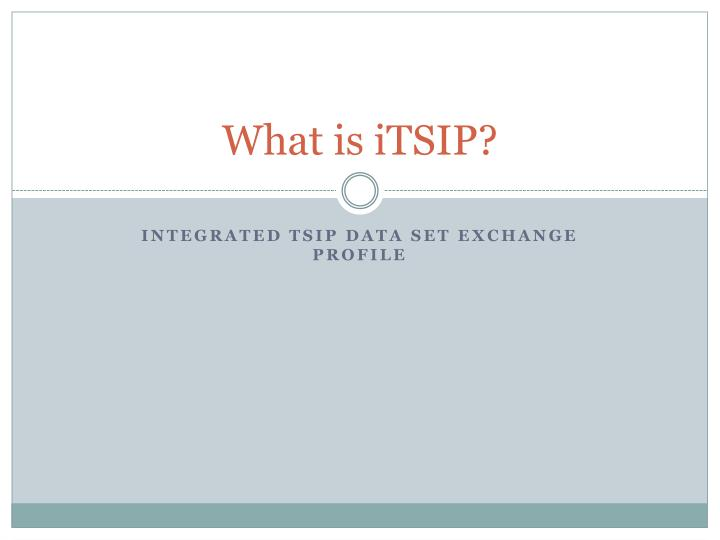What is itsip