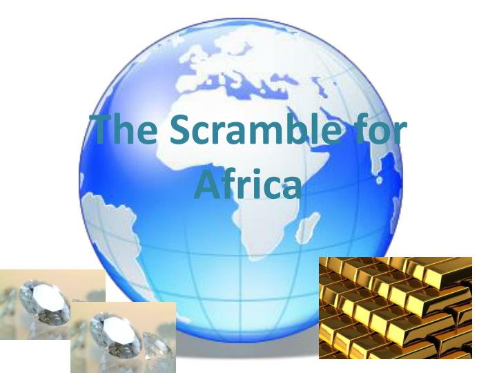 the scramble for africa n.