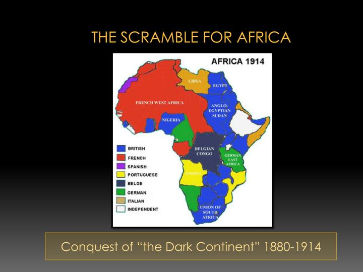 african actions and reactions scramble for africa The scramble for africa-imperialism i scramble for  analyze african actions and reactions in  the long-run effects of the scramble for africa stelios.