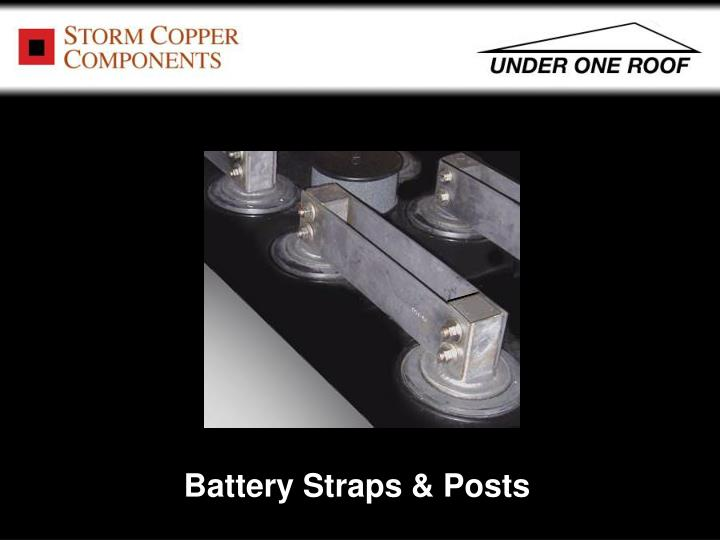 Battery Straps & Posts